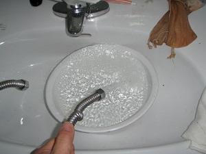 洗面所(水) 洗浄後