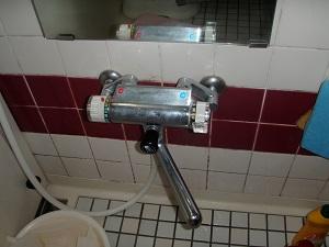 浴槽洗い場(洗浄前)