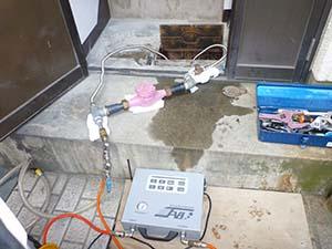 量水器(水道メーター)に打込み口設置 《1系統》