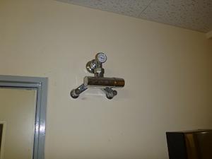 混合調整器(給湯管) バイパス設置前