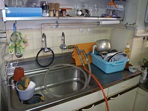 洗浄箇所に応じた、圧縮空気の打込口を設置