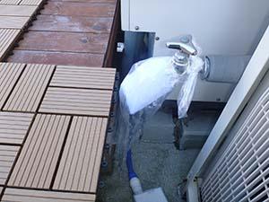 4F 屋上 散水栓 【洗浄中】